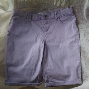 Lavender Children's Place Shorts 14 NWT